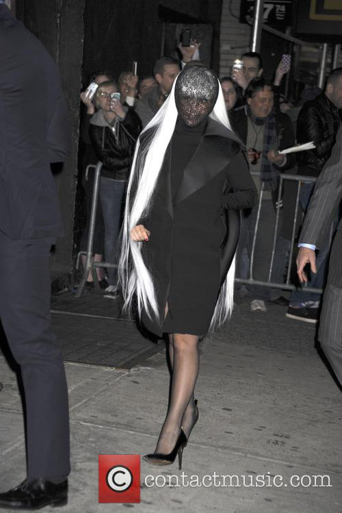lady gaga lady gaga arrives at roseland 4134389
