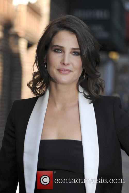 cobie smulders late show with david letterman 4134408