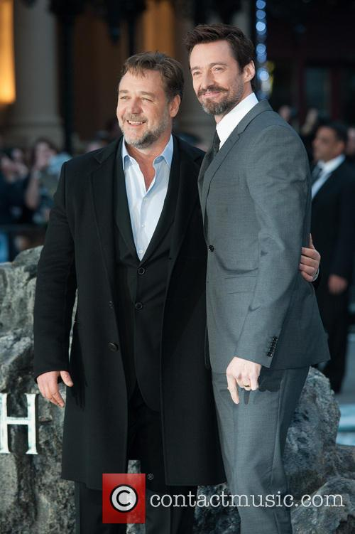 Hugh Jackman and Russell Crowe 2