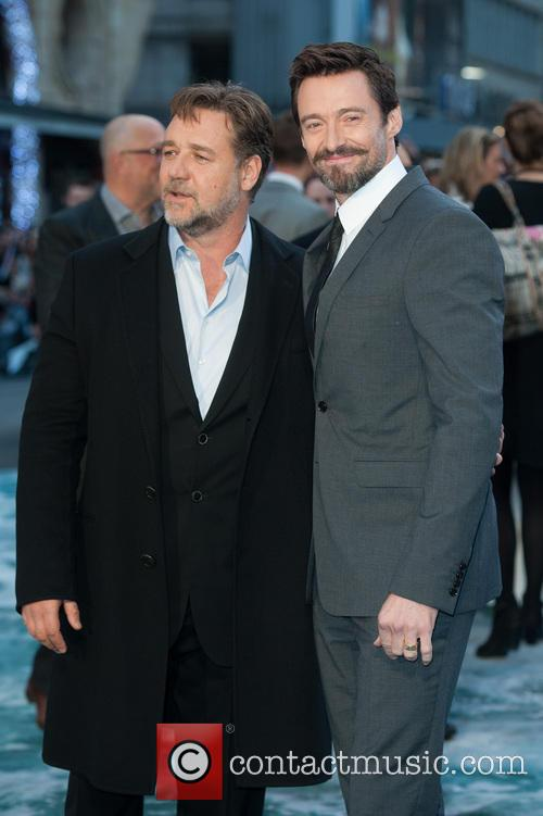 Hugh Jackman and Russell Crowe 3