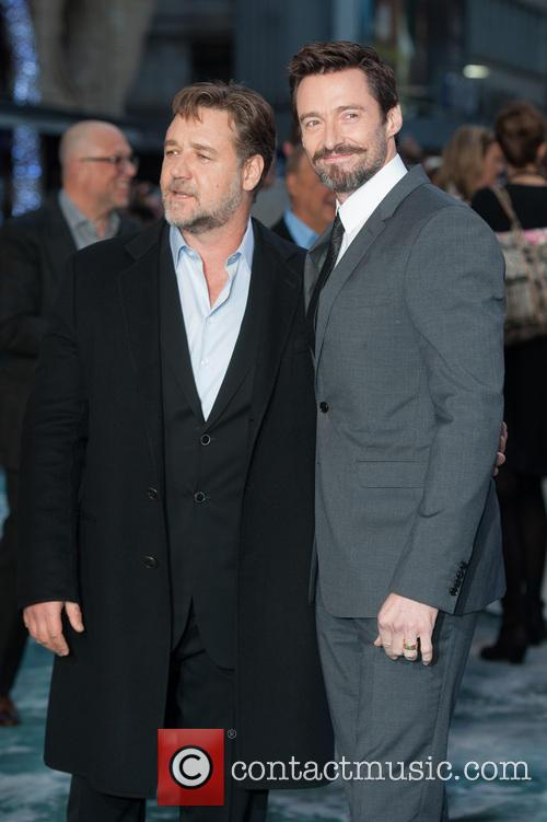 Hugh Jackman and Russell Crowe 9