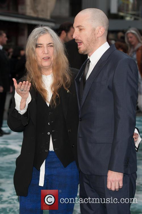 Patti Smith and Darren Aronofsky 3