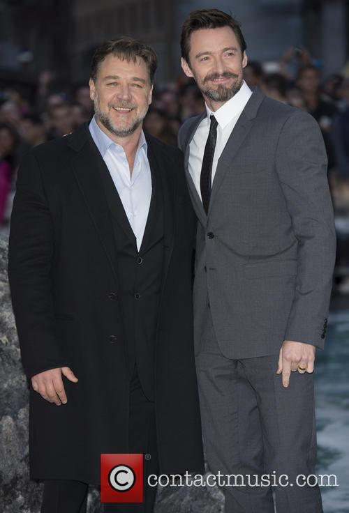 Russell Crowe and Hugh Jackman 4
