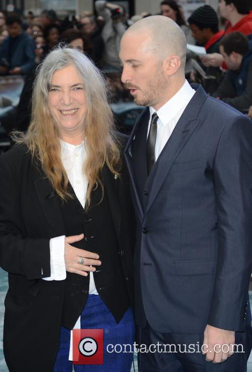 Patti Smith and Darren Aronofsky 1