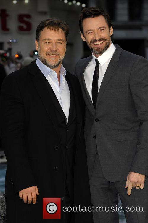 Russell Crowe and Hugh Jackman 1