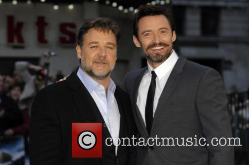 Russell Crowe, Hugh Jackman, Odeon Leicester Square