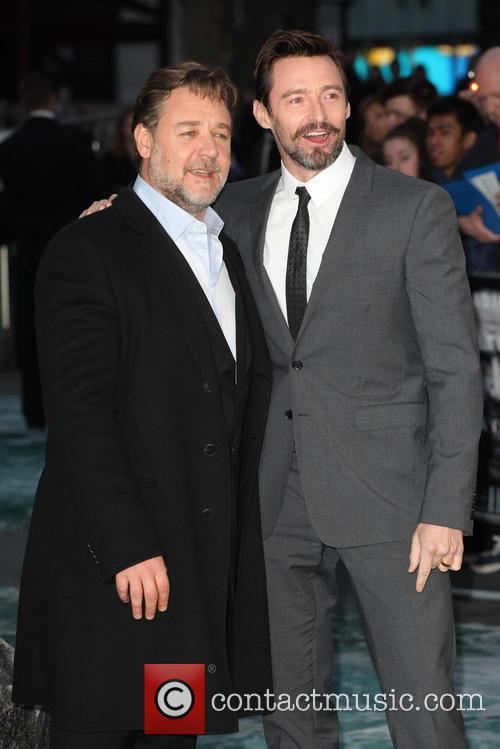 Russell Crowe and Hugh Jackman 14