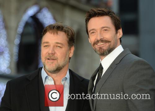 Russell Crowe and Hugh Jackman 5