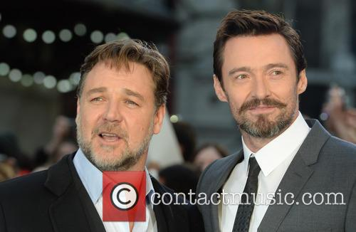 Russell Crowe and Hugh Jackman 6