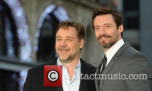 Russell Crowe and Hugh Jackman 7