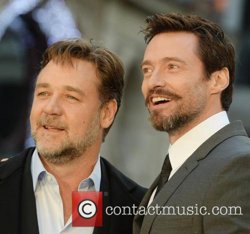 Russell Crowe and Hugh Jackman 8