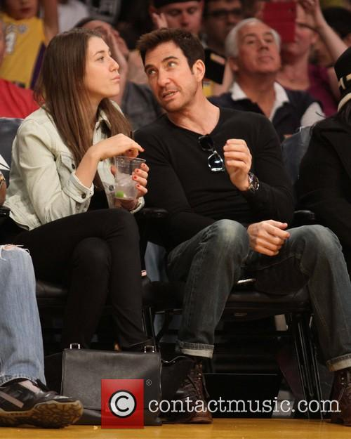 Dylan Mcdermott and Colette Rose Mcdermott 4