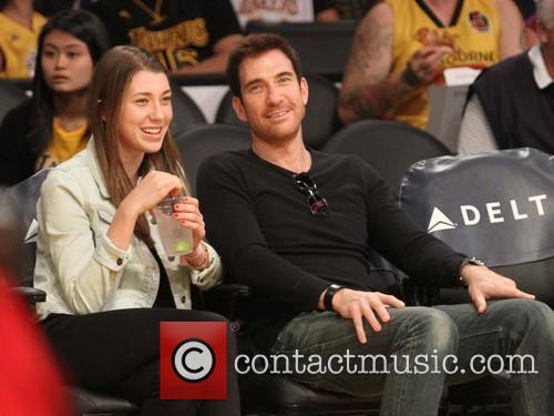 Dylan Mcdermott and Colette Rose Mcdermott 9