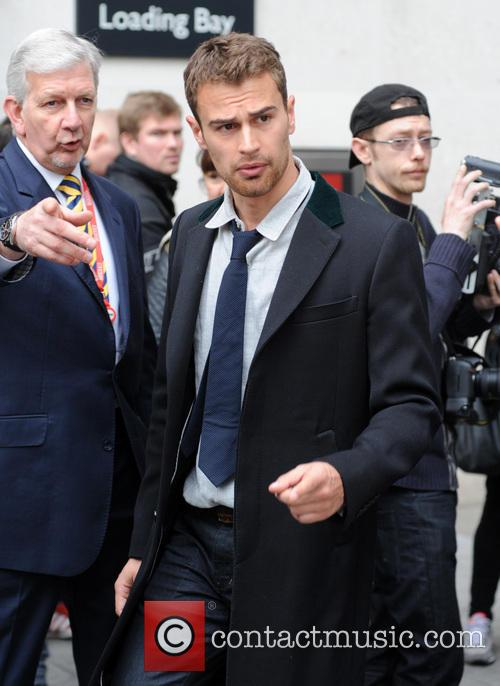 Theo James pictured at Radio 1