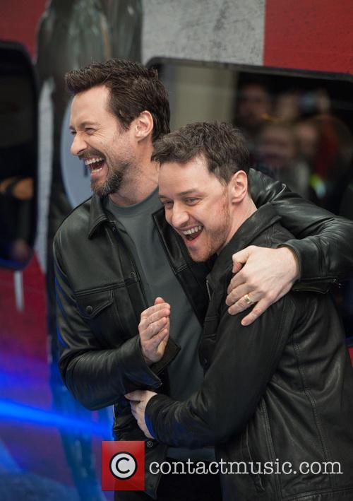 Hugh Jackman and James Mcavoy 4