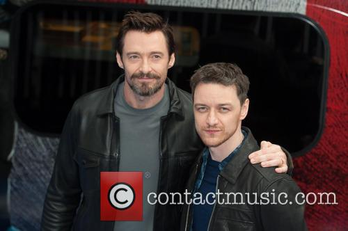 Hugh Jackman and James Mcavoy 6