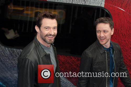 Hugh Jackman and James Mcavoy 7