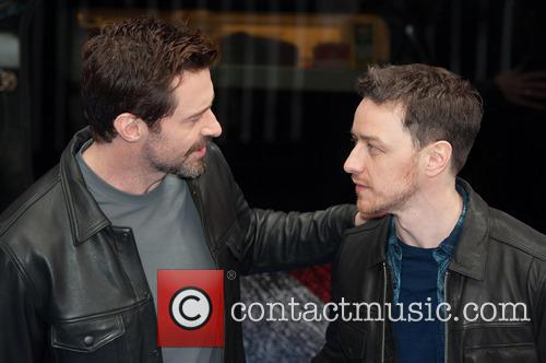 Hugh Jackman and James Mcavoy 9
