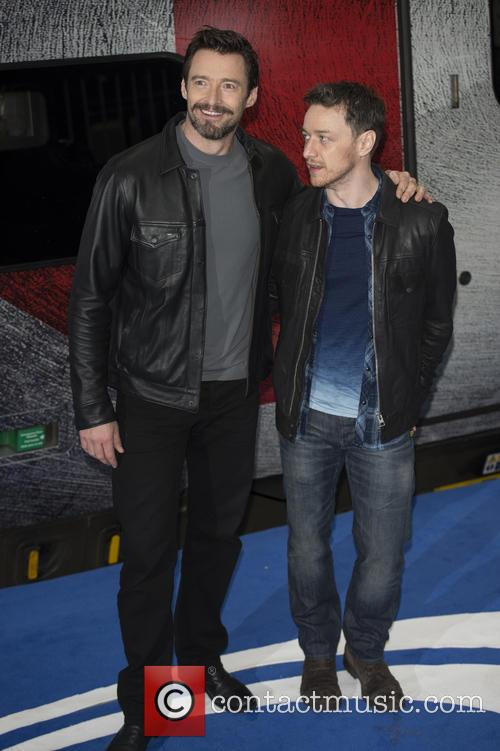 Hugh Jackman and James Mcavoy 1