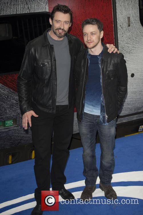 Hugh Jackman and James McAvoy 12