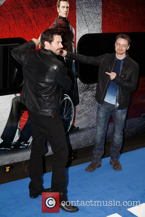 James Mcavoy and Hugh Jackman 3