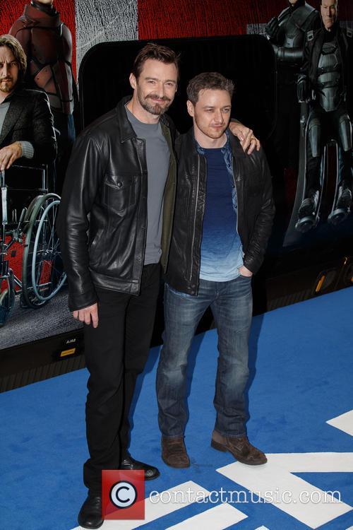 James Mcavoy and Hugh Jackman 7