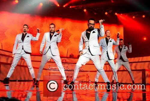 Backstreet Boys, Howie Dorough, Aj Mclean, Brian Littrell, Nick Carter and Kevin Richardson 1