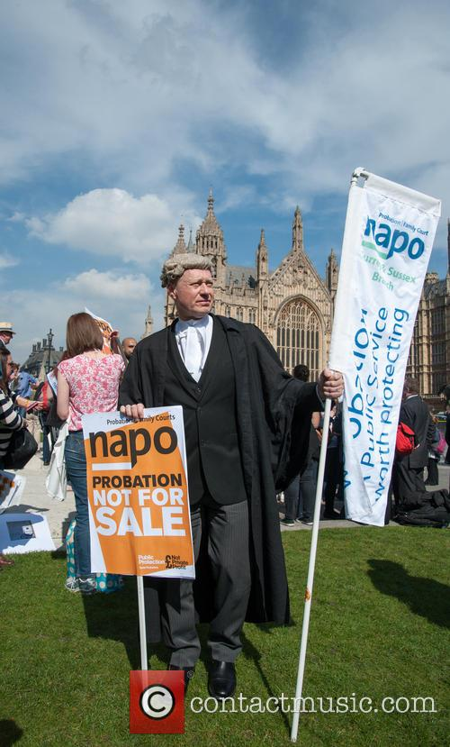 'April Fools Day' protest against cuts to legal...