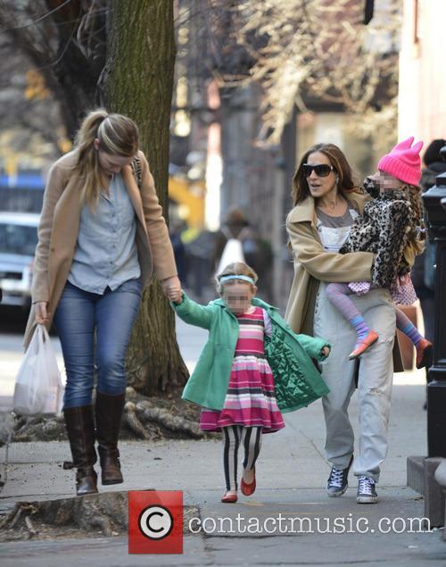 Sarah Jessica Parker, Marion Broderick and Tabitha Broderick 4