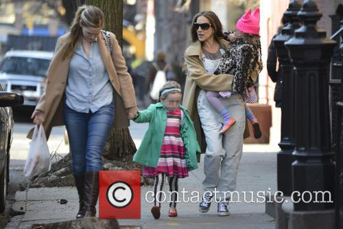 Sarah Jessica Parker, Marion Broderick and Tabitha Broderick 5