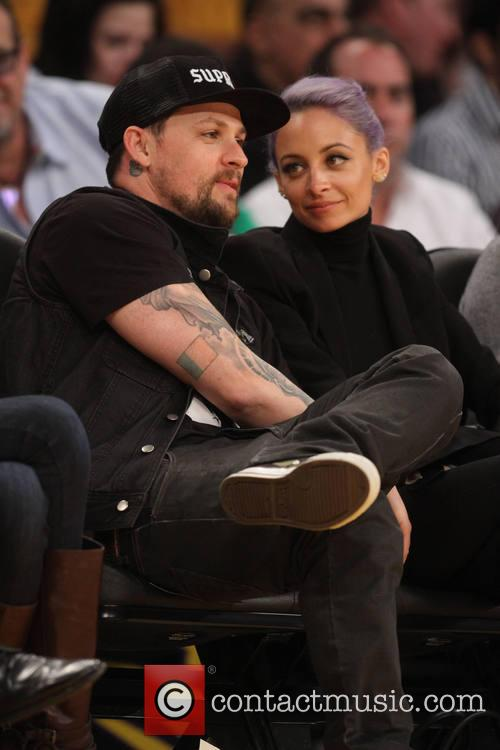 Nicole Richie, Joel Madden, Staples Center