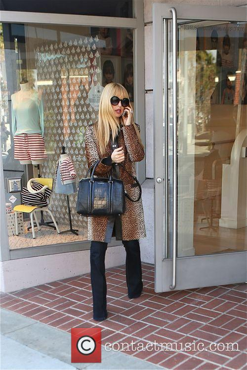 Rachel Zoe out shopping in Beverly Hills