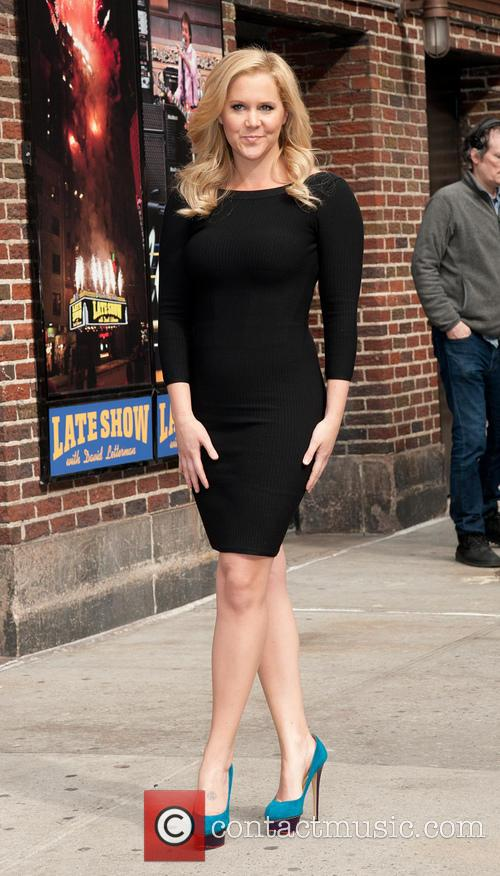 Amy Schumer at Late Show with David Letterman...