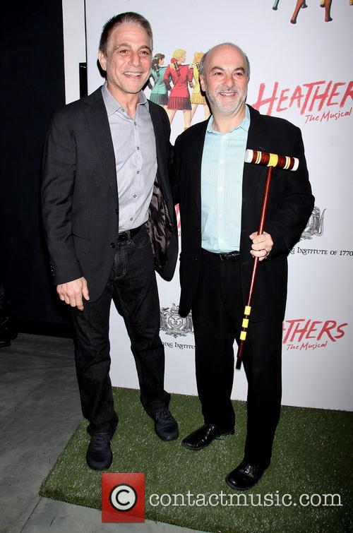 tony danza guest opening night of heathers the 4133968
