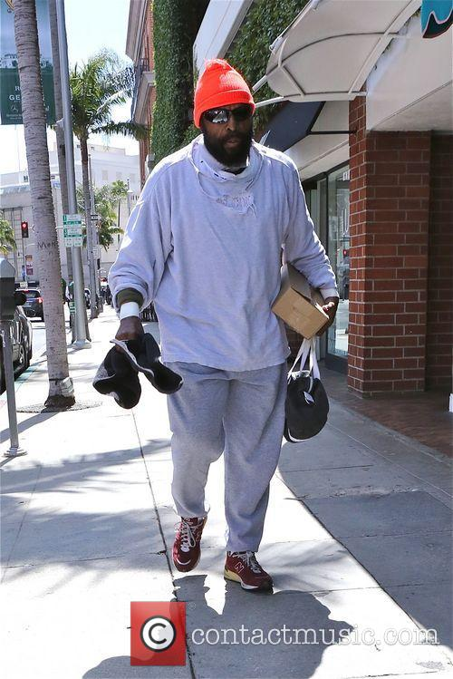 Mister T out and about in Beverly Hills