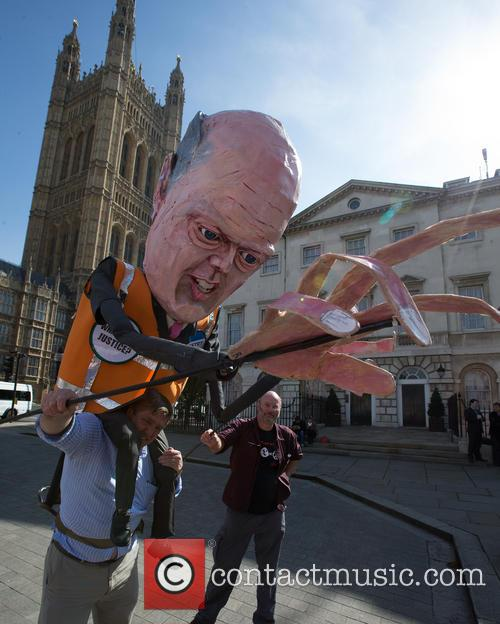 Justice and Chris Grayling Effigy 9