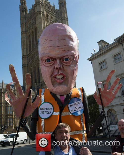 Justice and Chris Grayling Effigy 11