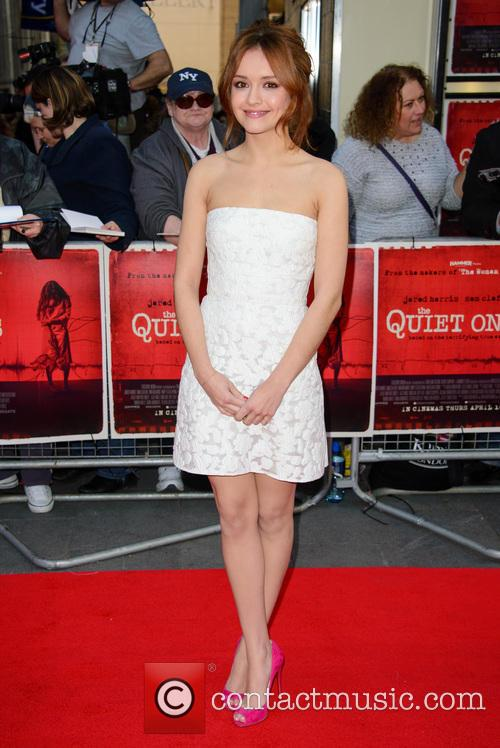 olivia cooke the quiet ones world premiere 4134868