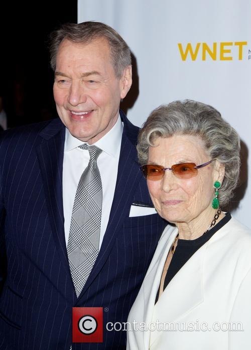 Charlie Rose and Rosalind P. Walter 4