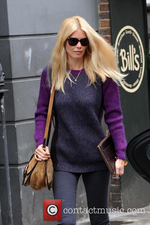 Claudia Schiffer spotted in London