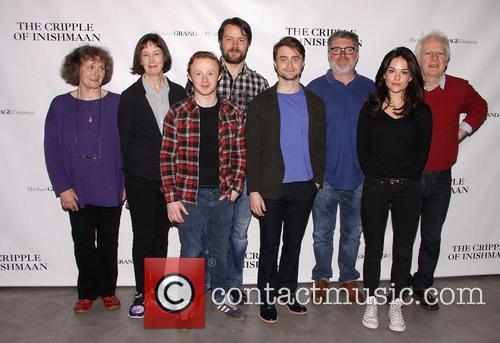 Gillian Hanna, Ingrid Craigie, Conor Macneill, Padraic Delaney, Daniel Radcliffe, Pat Shortt, Sarah Greene and Gary Lilburn 3