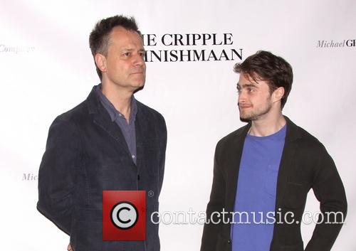Michael Grandage and Daniel Radcliffe 2