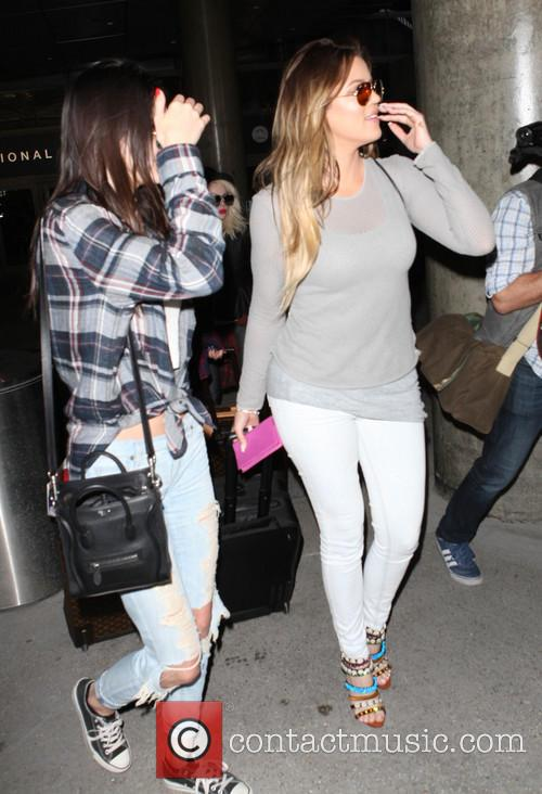 Kardashians At LAX