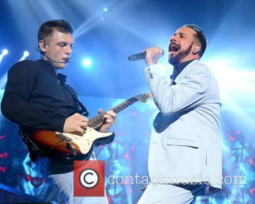 Backstreet Boys - Nick Carter and Aj Mclean 2