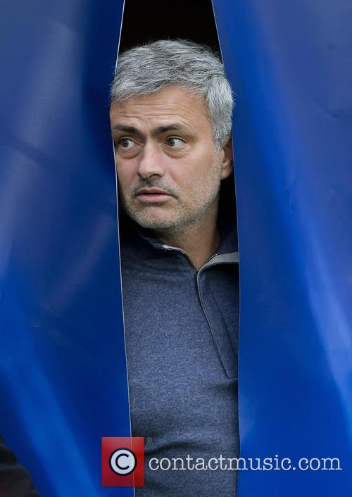 Chelsea FC manager Jose Mourinho during the game...