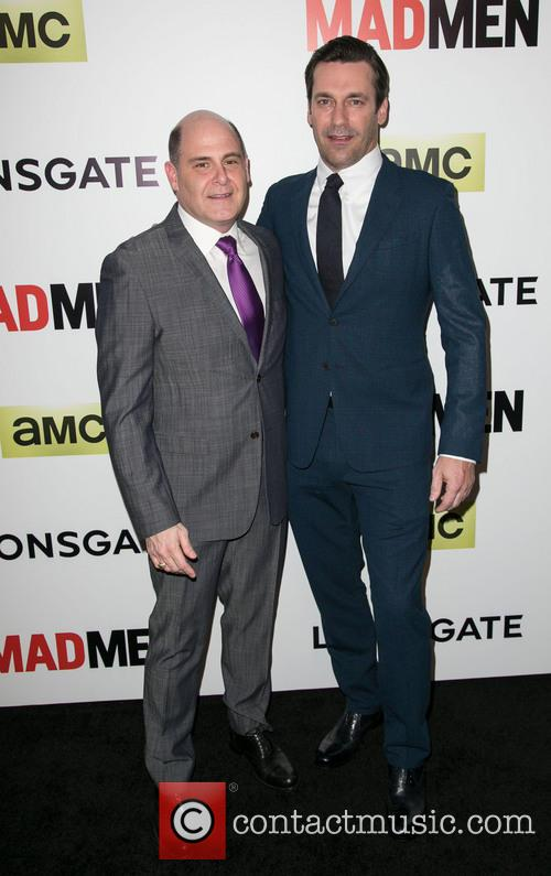 Matthew Weiner and Jon Hamm 2
