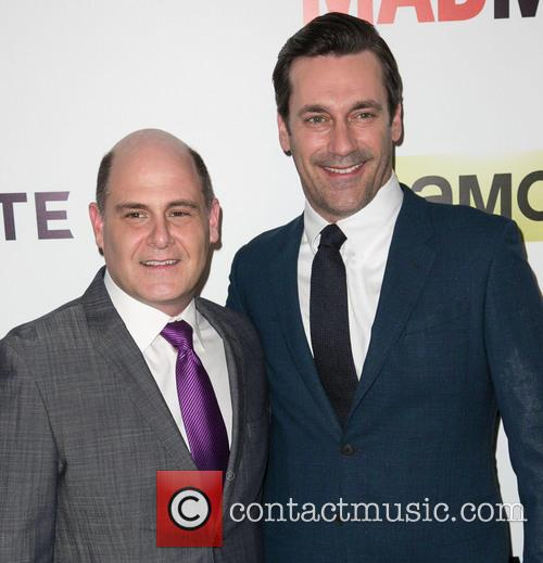 Matthew Weiner and Jon Hamm 1