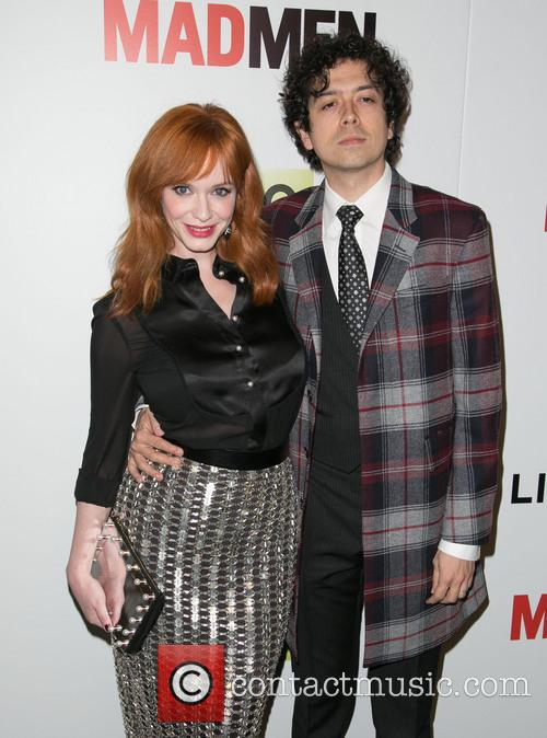 Christina Hendricks and Geoffrey Arend 9