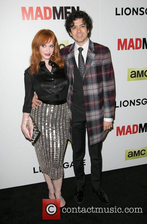 Christina Hendricks and Geoffrey Arend 3