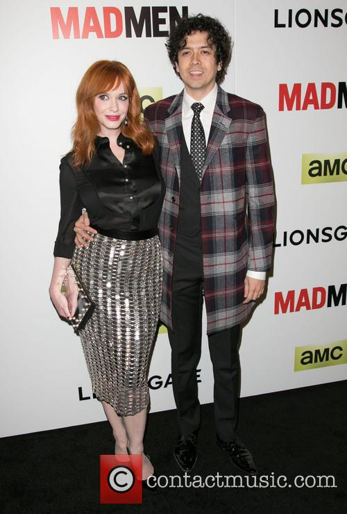Christina Hendricks and Geoffrey Arend 4